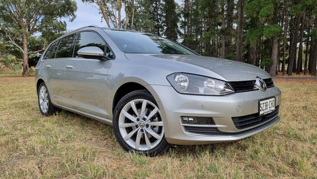 Used Volkswagen Golf VII MY14 110TDI DSG Highline Nuriootpa, 2014 Volkswagen Golf VII MY14 110TDI DSG Highline Tungsten Silver 6 Speed