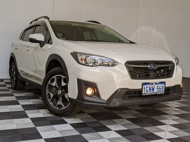 Used Subaru XV G5X MY18 2.0i Premium Lineartronic AWD Victoria Park, 2018 Subaru XV G5X MY18 2.0i Premium Lineartronic AWD White 7 Speed Constant Variable Wagon
