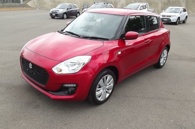 Used Suzuki Swift AZ GL Navigator South Gladstone, 2019 Suzuki Swift AZ GL Navigator Red 1 Speed Constant Variable Hatchback