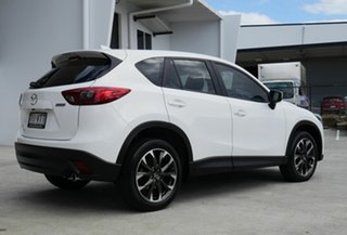 2015 Mazda CX-5 KE1022 Grand Touring SKYACTIV-Drive AWD White 6 Speed Sports Automatic Wagon