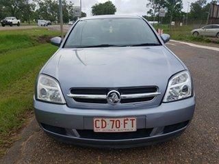 2004 Holden Vectra ZC MY2004 CD Silver 5 Speed Automatic Sedan.