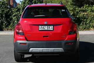 2016 Holden Trax TJ MY17 LTZ Blaze Red 6 Speed Automatic Wagon