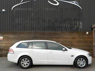 2008 Holden Commodore VE MY09 Omega Sportwagon White 4 Speed Automatic Wagon.