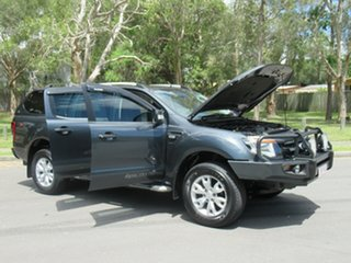 2012 Ford Ranger PX Wildtrak Double Cab Grey 6 Speed Manual Utility