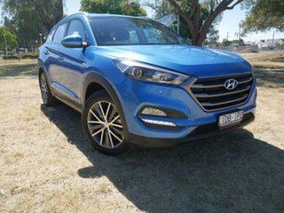 2015 Hyundai Tucson TL Active X (FWD) Blue 6 Speed Automatic Wagon.
