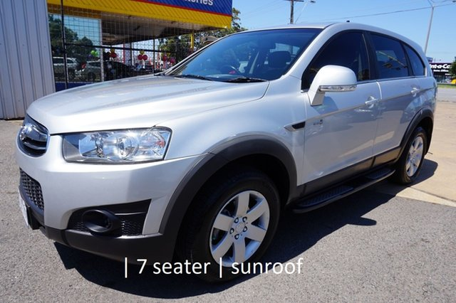 Used Holden Captiva CG Series II 7 SX Dandenong, 2011 Holden Captiva CG Series II 7 SX Nitrate Silver 6 Speed Sports Automatic Wagon