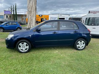 2004 Toyota Corolla ZZE122R 5Y Ascent Blue 5 Speed Manual Hatchback