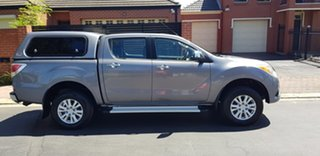 2012 Mazda BT-50 XTR (4x4) Grey 6 Speed Manual Dual Cab Utility.