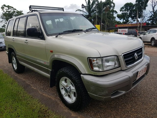 Used Holden Jackaroo U8 MY00 SE Pinelands, 2000 Holden Jackaroo U8 MY00 SE Gold 5 Speed Manual Wagon