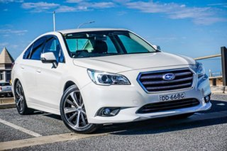 2015 Subaru Liberty B6 MY15 2.5i CVT AWD White 6 Speed Constant Variable Sedan.