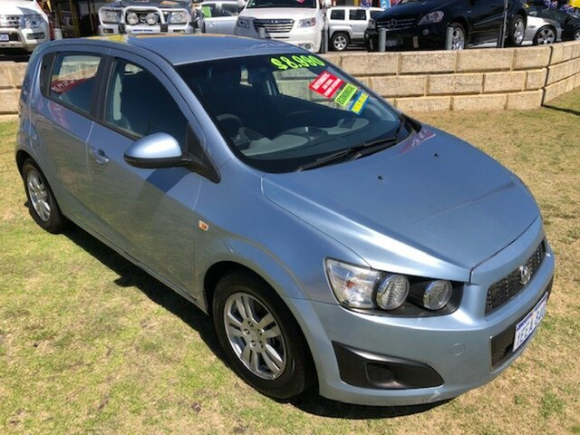 Used Holden Barina TM Wangara, 2012 Holden Barina TM Blue 6 Speed Automatic Hatchback
