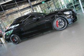 2019 Mercedes-Benz C-Class W205 809MY C63 AMG SPEEDSHIFT MCT S Black 9 Speed Sports Automatic Sedan.