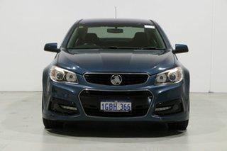 2014 Holden Commodore VF SV6 Blue 6 Speed Automatic Sedan.