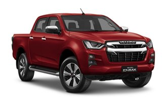2020 Isuzu D-MAX RG MY21 LS-U Crew Cab Magnetic Red 6 Speed Sports Automatic Utility