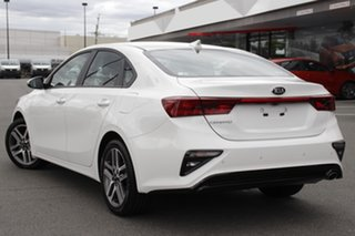 2020 Kia Cerato BD MY21 Sport+ Clear White 6 Speed Sports Automatic Sedan.