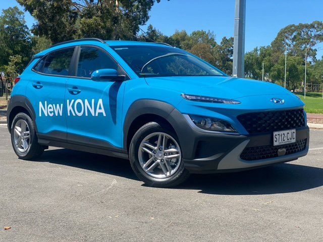Demo Hyundai Kona Os.v4 MY21 2WD Nailsworth, 2020 Hyundai Kona Os.v4 MY21 2WD Dive in Jeju 8 Speed Constant Variable Wagon