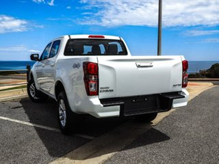 2020 Isuzu D-MAX RG MY21 LS-M Crew Cab White 6 Speed Sports Automatic Utility