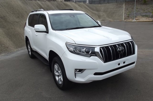 Used Toyota Landcruiser Prado GDJ150R GXL South Gladstone, 2019 Toyota Landcruiser Prado GDJ150R GXL White 6 Speed Sports Automatic Wagon