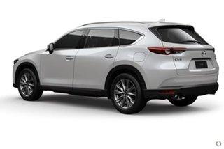 2020 Mazda CX-8 KG2W2A GT SKYACTIV-Drive FWD White 6 Speed Sports Automatic Wagon