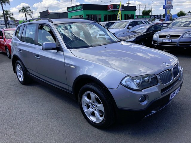 Used BMW X3 E83 MY07 2.5SI Cheltenham, 2007 BMW X3 E83 MY07 2.5SI Silver 6 Speed Auto Steptronic Wagon