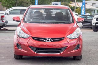 2012 Hyundai Elantra MD2 Active Red 6 Speed Sports Automatic Sedan.