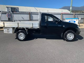 2014 Mitsubishi Triton MN MY15 GL 4x2 Black 5 Speed Manual Cab Chassis.