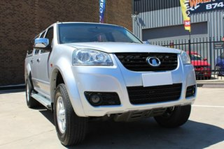 2012 Great Wall V200 K2 (4x2) Silver 6 Speed Manual Dual Cab Utility