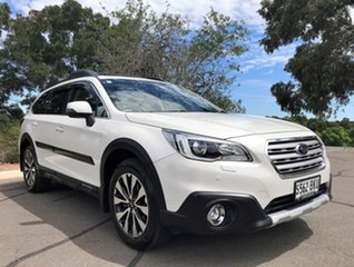 2016 Subaru Outback B6A MY16 2.0D CVT AWD Premium White 7 Speed Constant Variable Wagon.