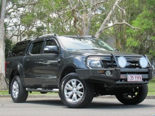 2012 Ford Ranger PX Wildtrak Double Cab Grey 6 Speed Manual Utility.
