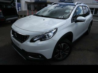2019 Peugeot 2008 MY18.5 Allure Pearl White 6 Speed Automatic Wagon.