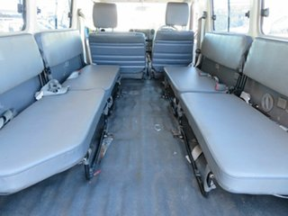 2010 Toyota Landcruiser VDJ78R 09 Upgrade Workmate (4x4) 11 Seat White 5 Speed Manual TroopCarrier