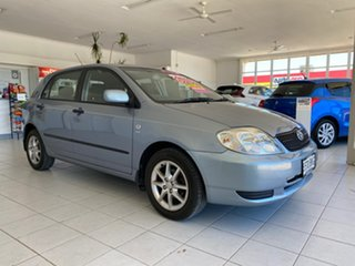 2002 Toyota Corolla ZZE122R Ascent Seca Blue 4 Speed Automatic Hatchback.