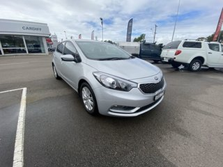 2015 Kia Cerato YD MY16 S Silver 6 Speed Sports Automatic Hatchback.