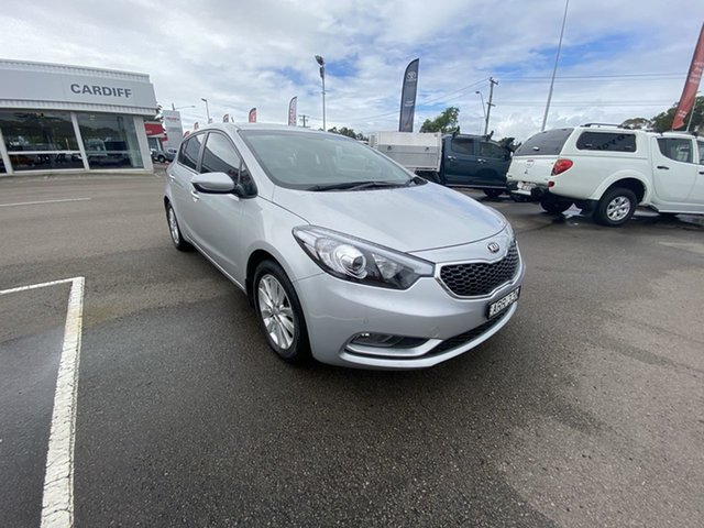 Used Kia Cerato YD MY16 S Cardiff, 2015 Kia Cerato YD MY16 S Silver 6 Speed Sports Automatic Hatchback