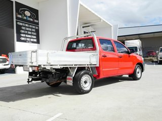 2012 Toyota Hilux TGN16R MY12 Workmate 4x2 Red 5 Speed Manual Cab Chassis