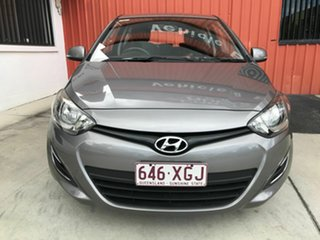 2014 Hyundai i20 PB MY14 Active Grey 4 Speed Automatic Hatchback.