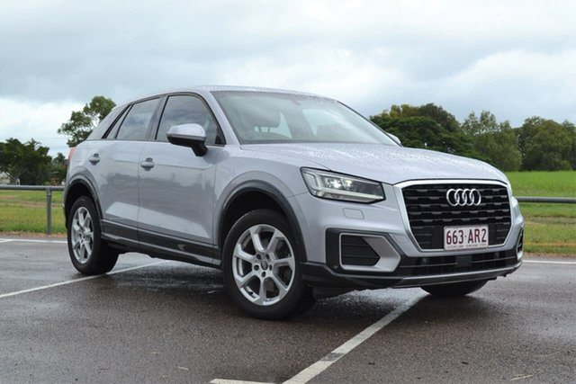 Used Audi Q2 GA MY18 design S Tronic Mundingburra, 2018 Audi Q2 GA MY18 design S Tronic Silver 7 Speed Sports Automatic Dual Clutch Wagon