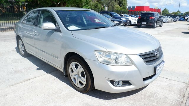 Used Toyota Aurion GSV40R AT-X St James, 2009 Toyota Aurion GSV40R AT-X Silver 6 Speed Sports Automatic Sedan