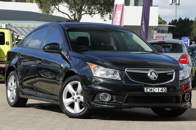 Used Holden Cruze JH Series II MY13 SRi-V Rosebery, 2012 Holden Cruze JH Series II MY13 SRi-V Black 6 Speed Sports Automatic Sedan