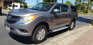 2012 Mazda BT-50 XTR (4x4) Grey 6 Speed Manual Dual Cab Utility