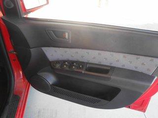 2005 Hyundai Getz TB MY06 Red 4 Speed Automatic Hatchback