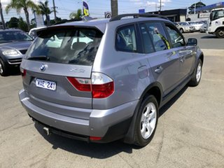 2007 BMW X3 E83 MY07 2.5SI Silver 6 Speed Auto Steptronic Wagon