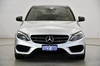 2016 Mercedes-Benz C-Class W205 807MY C200 7G-Tronic + Silver 7 Speed Sports Automatic Sedan.