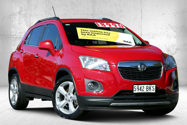 Used Holden Trax TJ MY17 LTZ Valley View, 2016 Holden Trax TJ MY17 LTZ Blaze Red 6 Speed Automatic Wagon