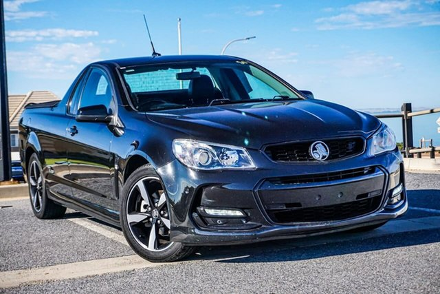 Used Holden Ute VF II MY16 SV6 Ute Black Christies Beach, 2016 Holden Ute VF II MY16 SV6 Ute Black Black 6 Speed Manual Utility