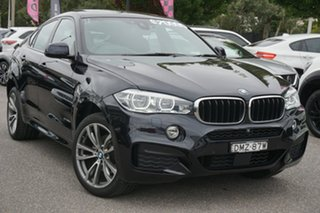 2017 BMW X6 F16 xDrive30d Coupe Steptronic Black 8 Speed Sports Automatic Wagon.