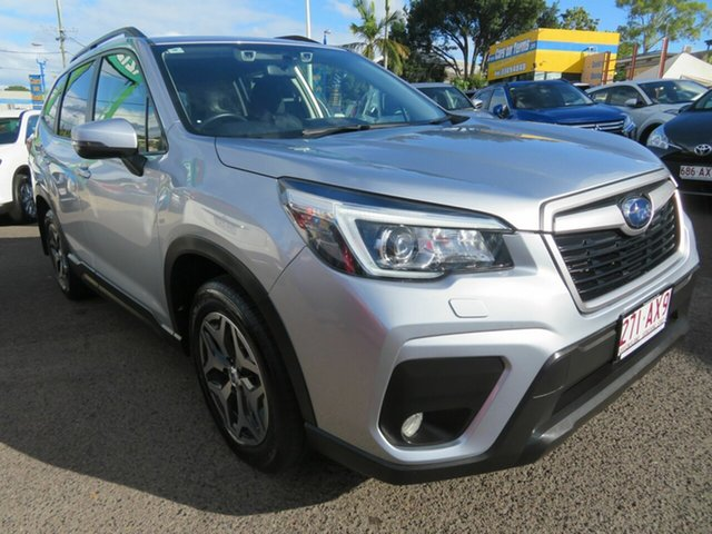 Used Subaru Forester S5 MY20 2.5i CVT AWD Mount Gravatt, 2020 Subaru Forester S5 MY20 2.5i CVT AWD Silver 7 Speed Constant Variable Wagon