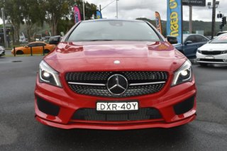 2015 Mercedes-Benz CLA-Class X117 CLA250 Shooting Brake DCT 4MATIC Sport Red/Black 7 Speed