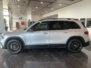 2020 Mercedes-Benz GLB-Class X247 800+050MY GLB35 AMG SPEEDSHIFT DCT 4MATIC Silver 8 Speed