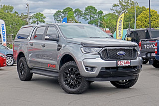 2020 Ford Ranger PX MkIII 2020.25MY FX4 Silver 10 Speed Sports Automatic Double Cab Pick Up.